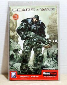 Wild-Storm-Comics-Gears-of-War-Issue-1-2008-Gamestop-Exclusive-VF-NM