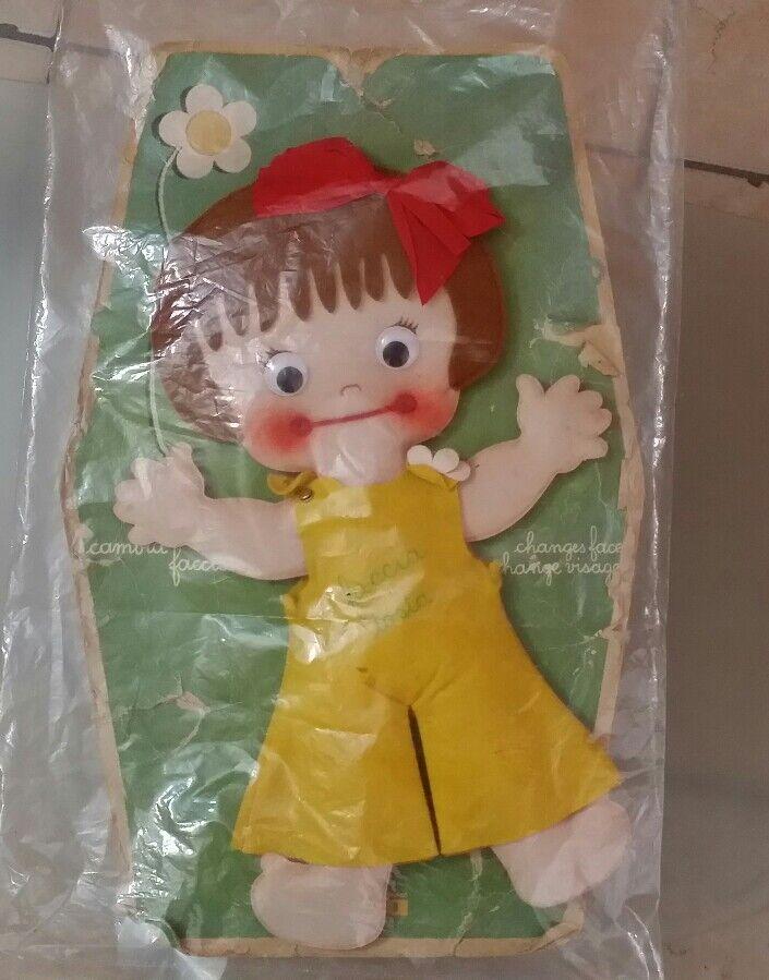 Bambola Furga Faccia Tosta Da Collezione Anni 70