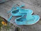 RARES BASKETS COLLECTOR LE COQ SPORTIF TURQUOISE T 40 TBE A 12€ ACH IMM FP RED