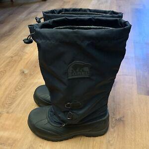 Navy Blue Snowlion Boots Size