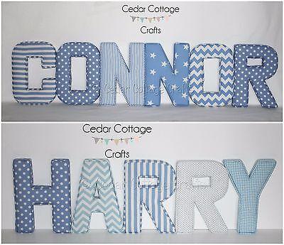 Letters Wall Art Handmade Nursery Name
