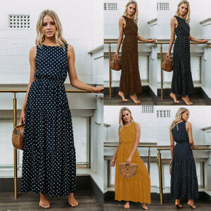 Boho-Women-Summer-Casual-Long-Maxi-Evening-Party-Cocktail-Beach-Dress-Sundress