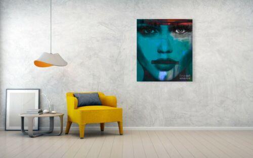 Motiv Kate Moss  Silbergebürstetes Alu 90x75 cm Pop Art//Bild//Poster//Druck//Loft