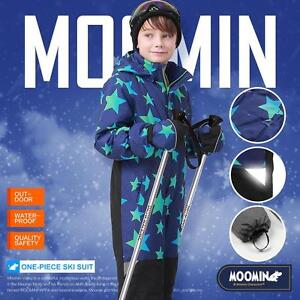 4188edc81958 Moomins Kids Boys Ski Suit Snow Suit All in one piece Snowboard Set ...