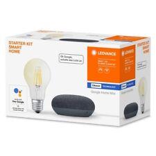 Google Home Black Mini SMART+ E27 Filament STARTER KIT SMART HOME LEDVANCE