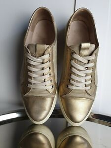 ALPE Womens Gold Pumps Trainers