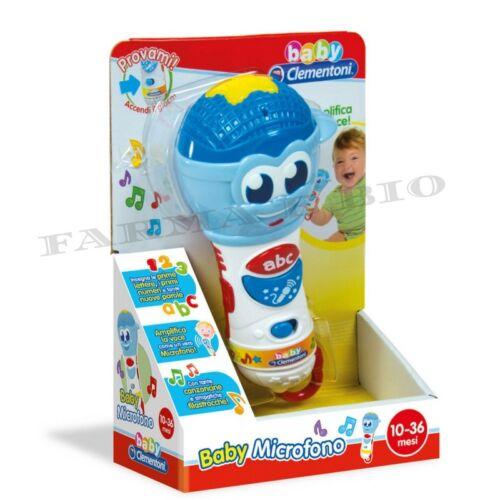 BABY CLEMENTONI BABY MICROFONO GIOCATTOLO 10-36 mesi
