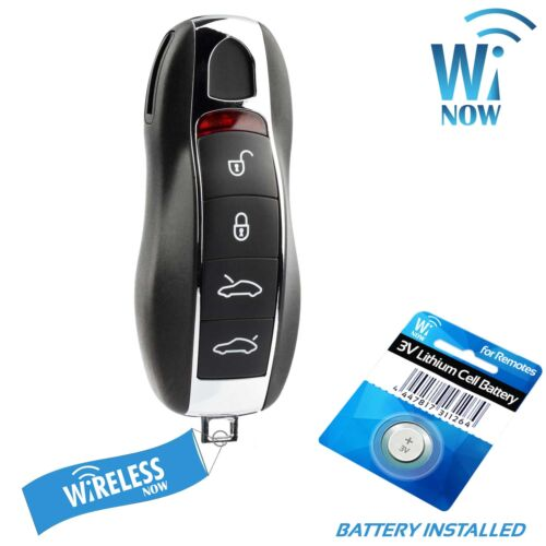Car Key Fob Keyless Entry Remote 4Btn For 2015 2016 Porsche Panamera