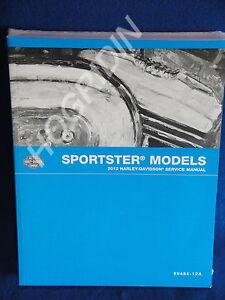 2012 harley davidson sportster xl 1200 883 hugger nightster low rh ebay com 2010 sportster service manual 2012 sportster service manual pdf