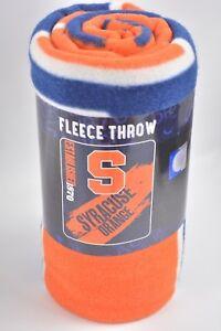 "Northwest Syracuse Orange NCAA Collegiate Fleece Throw Blanket 50"" x 60"""