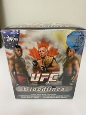 2012 Topps UFC Bloodlines Factory Sealed Hobby Box--Autographs and Relics!!!