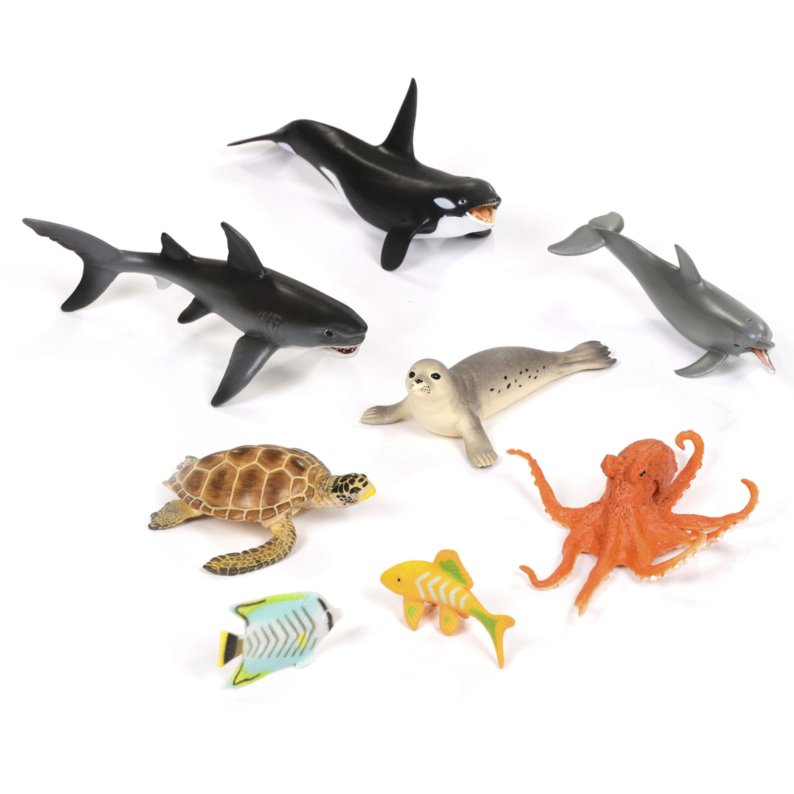 Sea Creatures Set EYFS, Science STEM Play, Habitat Exploration, Geography