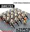 21-22-Pcs-Minifigure-Star-Wars-Clone-Trooper-Captain-Rex-Palpatine-Army-Lego-MOC thumbnail 8