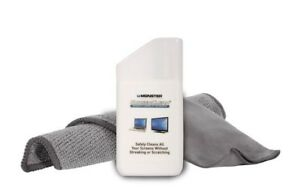 Monster-Cable-Screen-Cleaner-For-Electronic-Display-050644530449-Microfiber