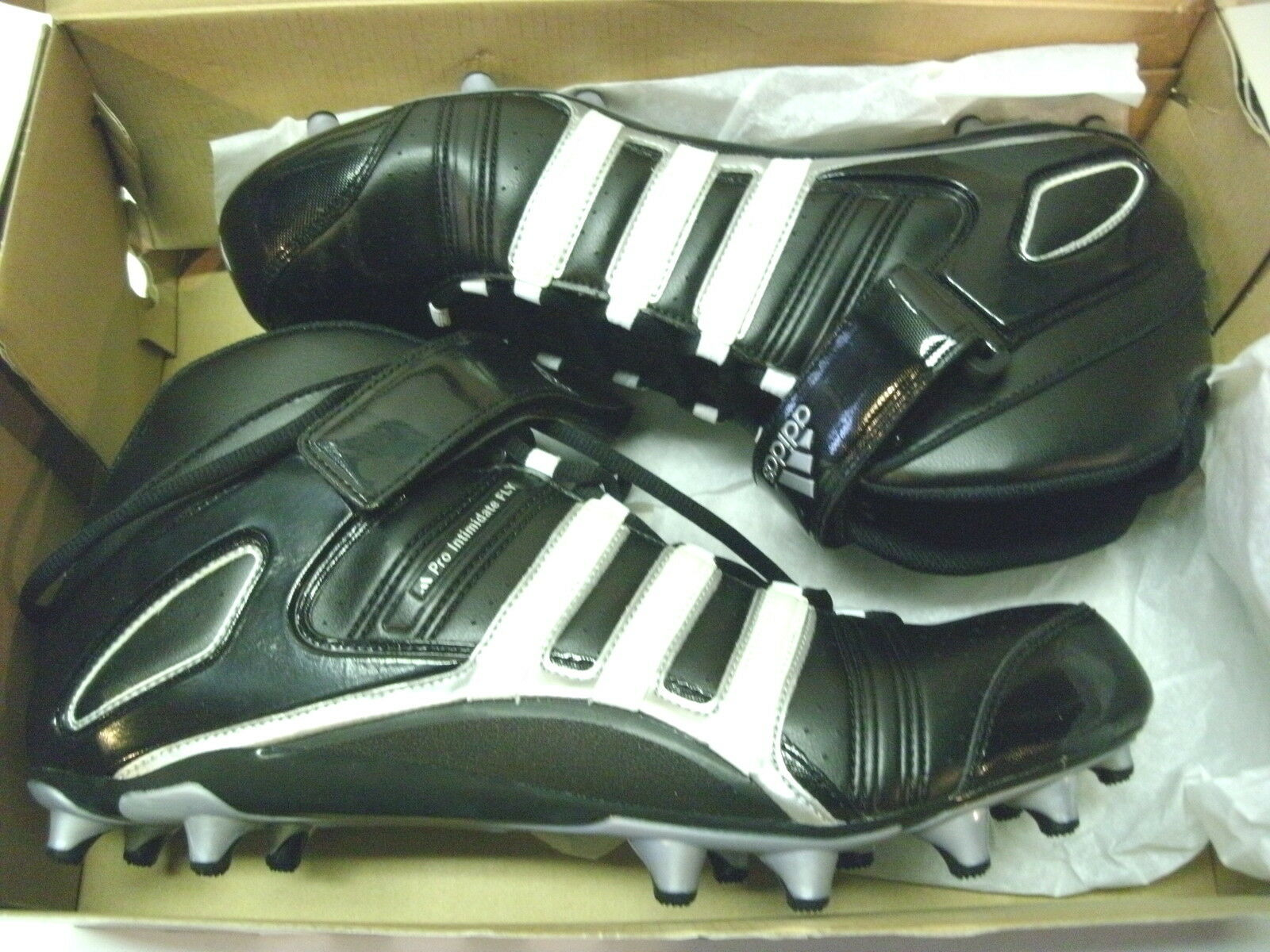 ADIDAS PRO INTIMIDATE 2 FLY MID MENS FOOTBALL SOCCER LACROSSE CLEATS, SIZE 14 Great discount