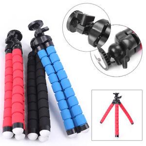1x-26cm-Portable-Mini-Flexible-Tripod-Octopus-Stand-Gorilla-Pod-For-Gopro-Camera