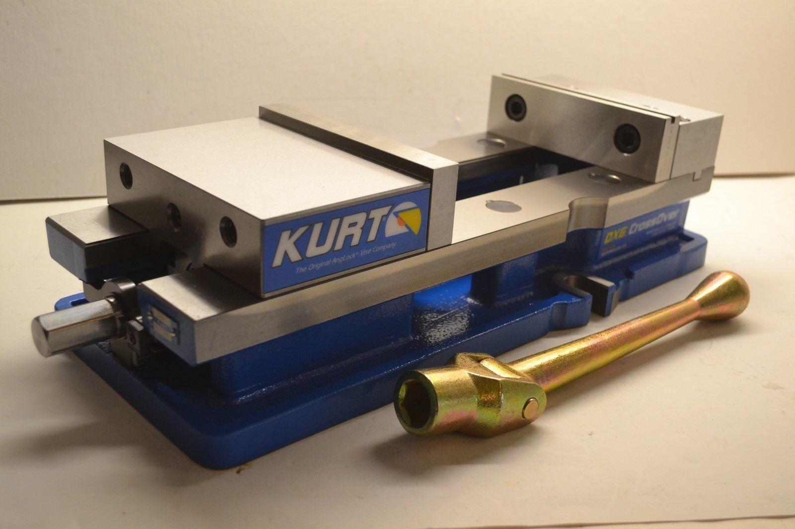 NEW KURT USA DX6 CrossOver 6″ Milling Machine CNC Vise 9″ OPENING cc123