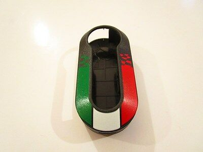 FIAT Key shell Remote Cover 500 PUNTO EVO BRAVO PANDA 500L UNITED STATES FLAG