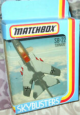 1981 MATCHBOX SKYBUSTERS SB-22 GERMAN TORNADO MARINE Two Tone GREY &  1:187 Boys