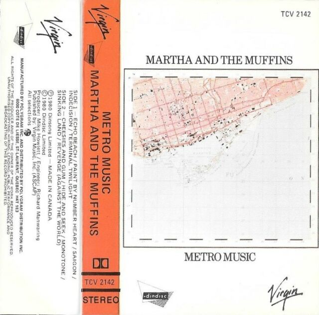 MARTHA & THE MUFFINS  :  METRO MUSIC   ( POLYGRAM , CANADA )