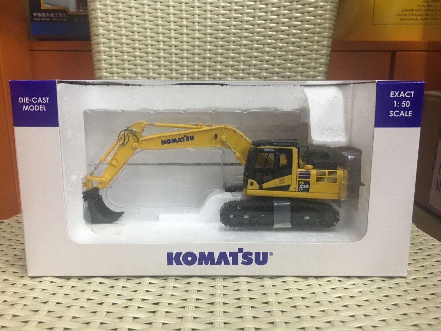 UH Universal Hobbies 1 50 Komatsu PC210LC-11 Excavator DieCast Model UH8122