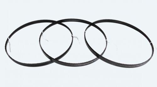 3 x Sägebänder Sägeband 2100 x 8 x 0,65 mm 6 ZpZ KLZ Holz Scheppach HBS 32 Vario