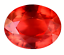 thumbnail 3 - 14.85 Ct Natural Fire Orange Sapphire CERTIFIED Sparkling Tanzania Gemstone