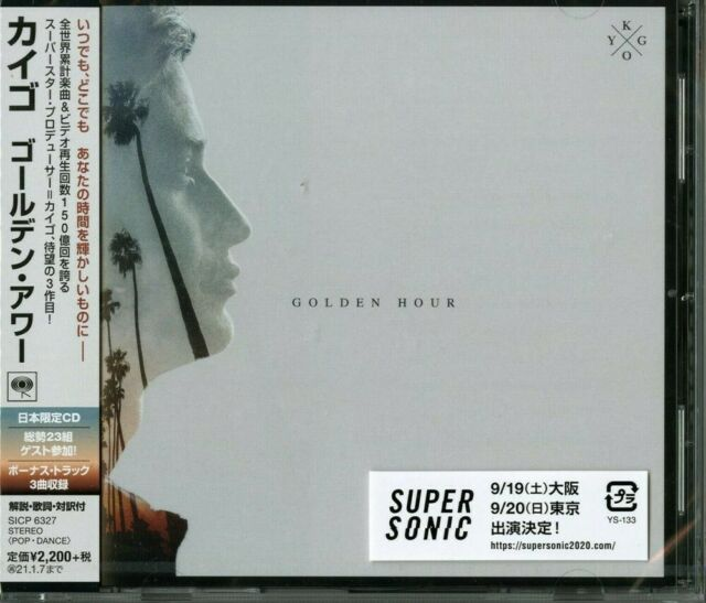 SONY MUSIC KYGO-GOLDEN HOUR-JAPAN CD E78 4547366455663 Downtemp, Electronica