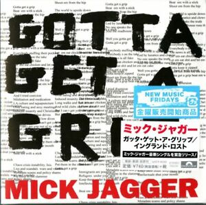 MICK-JAGGER-GOTTA-GET-A-GRIP-ENGLAND-LOST-JAPAN-MINI-LP-CD-A94