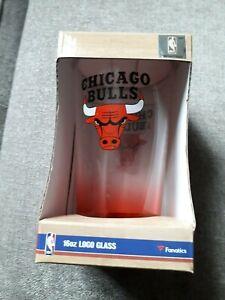 NBA-CHICAGO-BULLS-Team-16oz-Pint-Glass