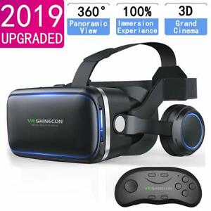 Virtual-Reality-3D-VR-Glasses-Headset-With-Remote-Controller-For-Samsung-iPhone
