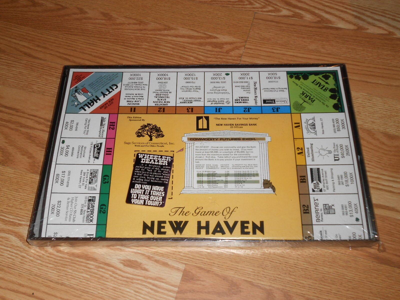 Wheeler Dealer le jeu de New Haven Board Game