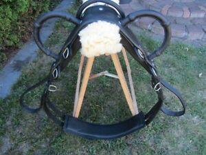 Leder-Voltigiergurt-Gr-Pony-Umfang-1-50-1-80m-schwarz