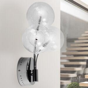 Pendel Lampe Hänge Kugel Beleuchtung Gästezimmer Decken Strahler Glas Brilliant