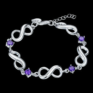 5-5-CARAT-Amethyst-amp-Crystal-Accent-Infinity-Bracelet-in-Brass