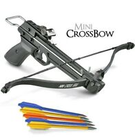50 Lb Crossbow Pistol Hunting Archery + 5 Bolts / Arrows 180 175 150 80 Lbs,