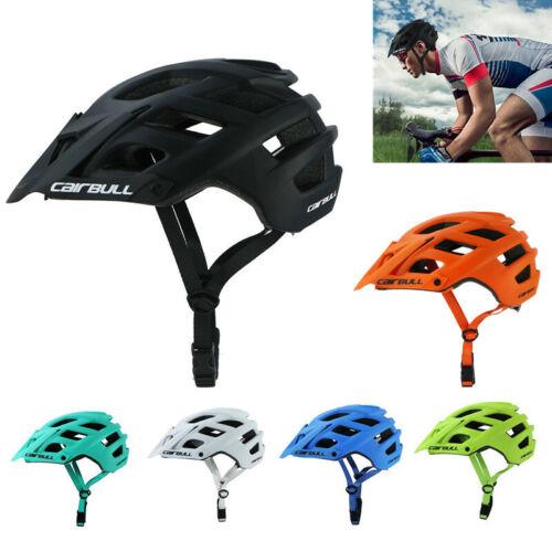CAIRBULL Bicycle Helmets EPS Detachable Visor MTB Cycling Helmet Men 55-61cm