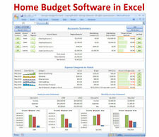 personal software excel spreadsheet template checkbook register ebay