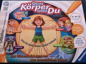 Tiptoi Lernspiel * Tip Toi Dein Körper und Du * - Elze, Deutschland - Tiptoi Lernspiel * Tip Toi Dein Körper und Du * - Elze, Deutschland