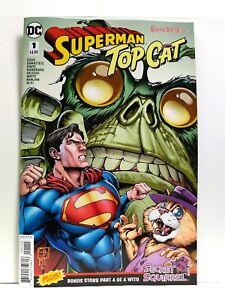 VF//NM Book SUPERMAN TOP CAT #1a 2018 Hanna-Barbera DC Comics