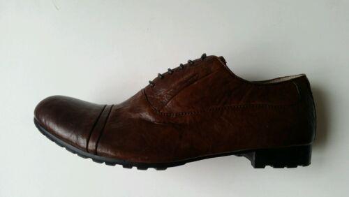 Nuovo Pelle 40 Marrone T Shoe Man Shmoove zqYOc