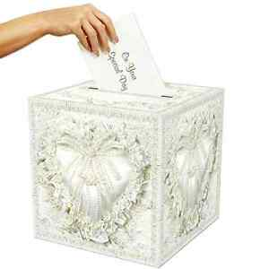 Details about Wedding Card Box Money Holder Party Reception Gift Envelope  Collection Hotel NEW