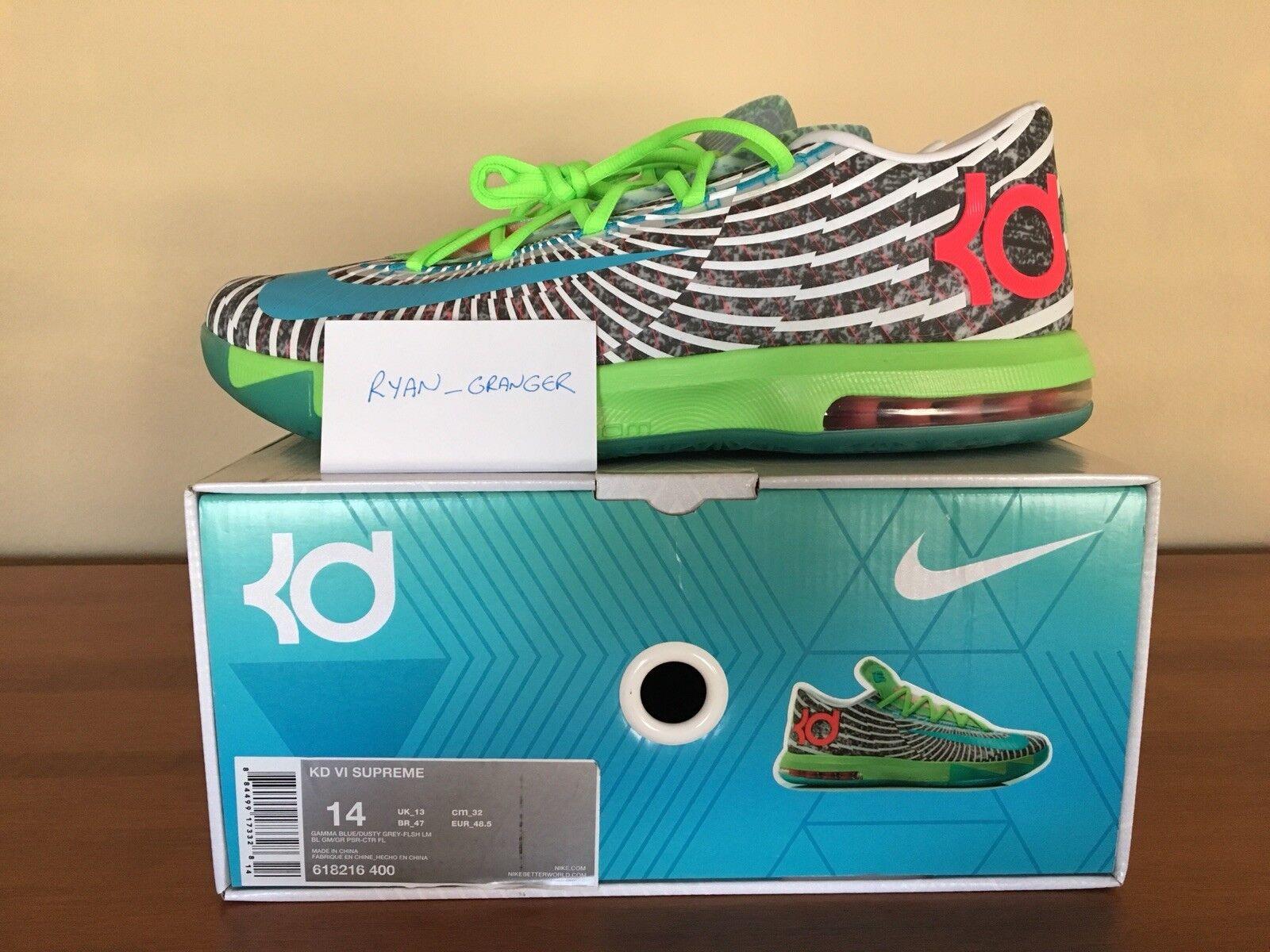 Nike KD VI DC Pre Heat Size 14.0