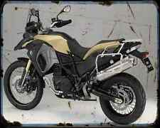 BMW F800Gs Adventure 14 2 A4 Foto Impresión moto antigua añejada De