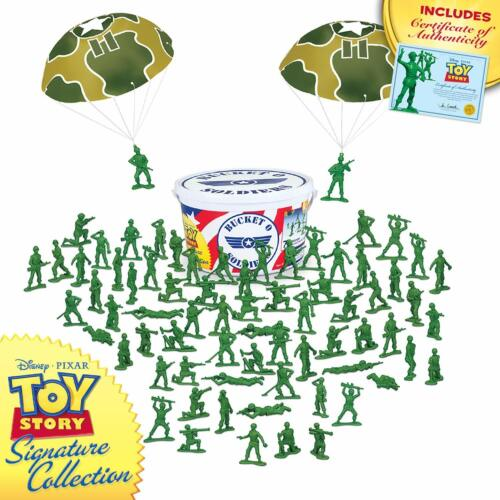 Disney PIXAR Toy Story Collection Bucket O Soldiers Green Army Men 72 Soldiers