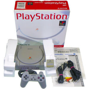 Sony-PS1-SCPH-5500-Console-Memory-Japan-Import-PlayStation-PSX-NTSC-J-Working