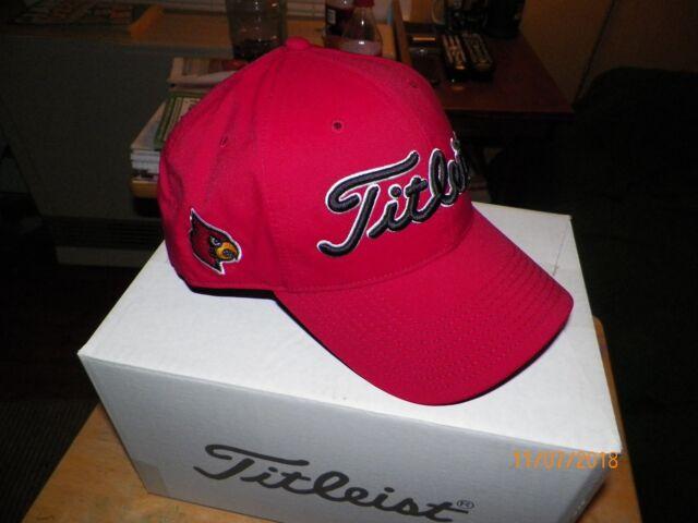 Buy Titleist Golf Hat Tour Performance Snapback Louisville Cardinals ... cd51f39c439