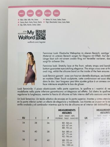 ✨ Plush numiform DRESS BY WOLFORD ✨ 38 rose taupe ✨ Shaping with french lace