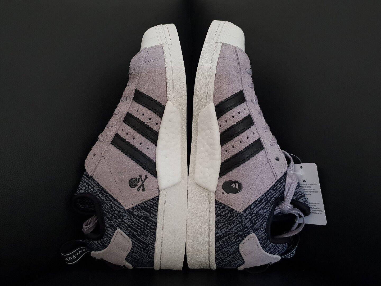 Adidas x bape x quartiere quartiere quartiere superstar, nero   grigio, (cg2917), 10 | Prestazioni Superiori  a96fac