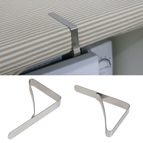 Strong Stainless Steel Tablecover Clips Picnic Table Secure Cloth Bracket